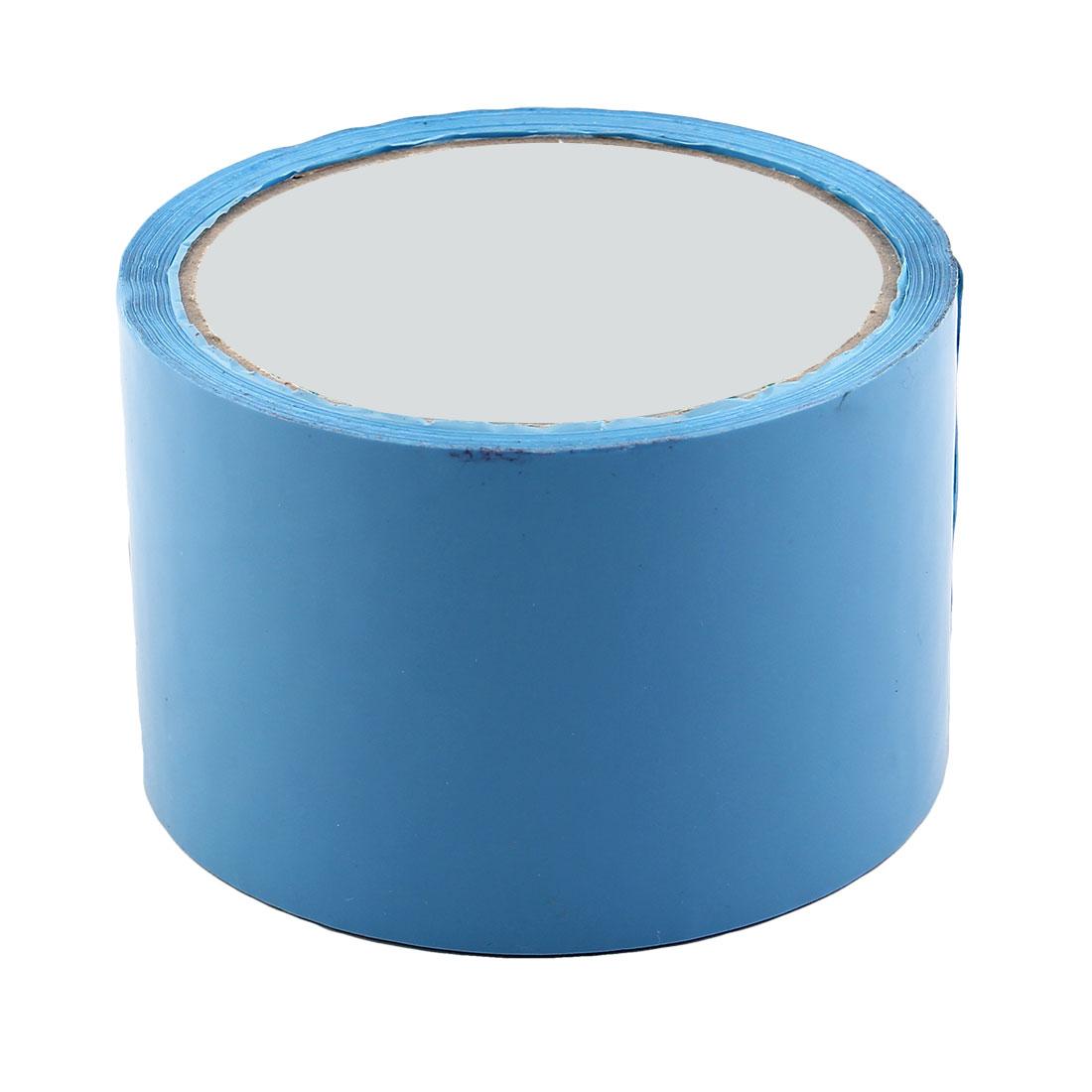 Shipping PVC Box Carton Sealing Adhesive Tape Blue 2.4'' x 32.8 Yards(98.4 Ft)