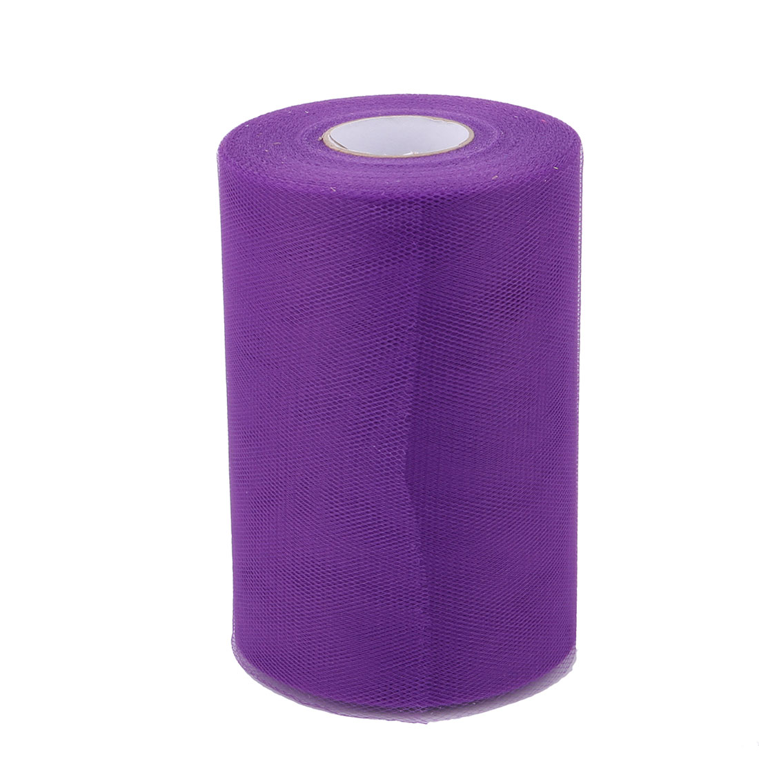 Family Dress Tutu Gift Decor Craft Tulle Spool Roll Purple 6 Inch x 100 Yards