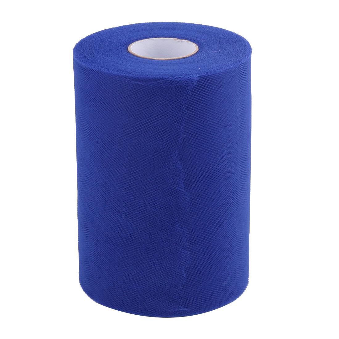 Shop Dress Tutu Gift Decor Tulle Spool Roll Royal Blue 6 Inch x 100 Yards