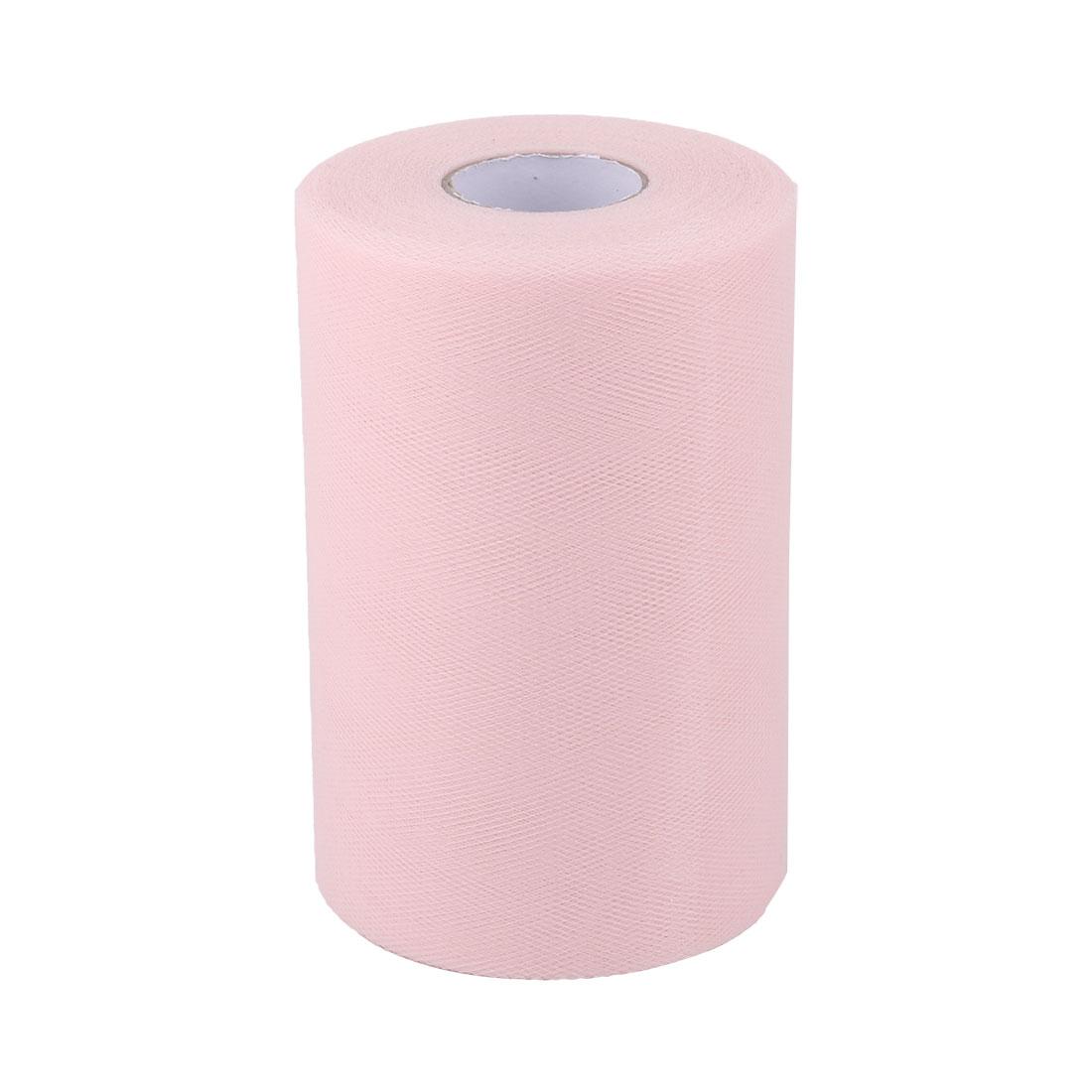 Shop Dress Tutu Gift Decor Tulle Spool Roll Light Pink 6 Inch x 100 Yards