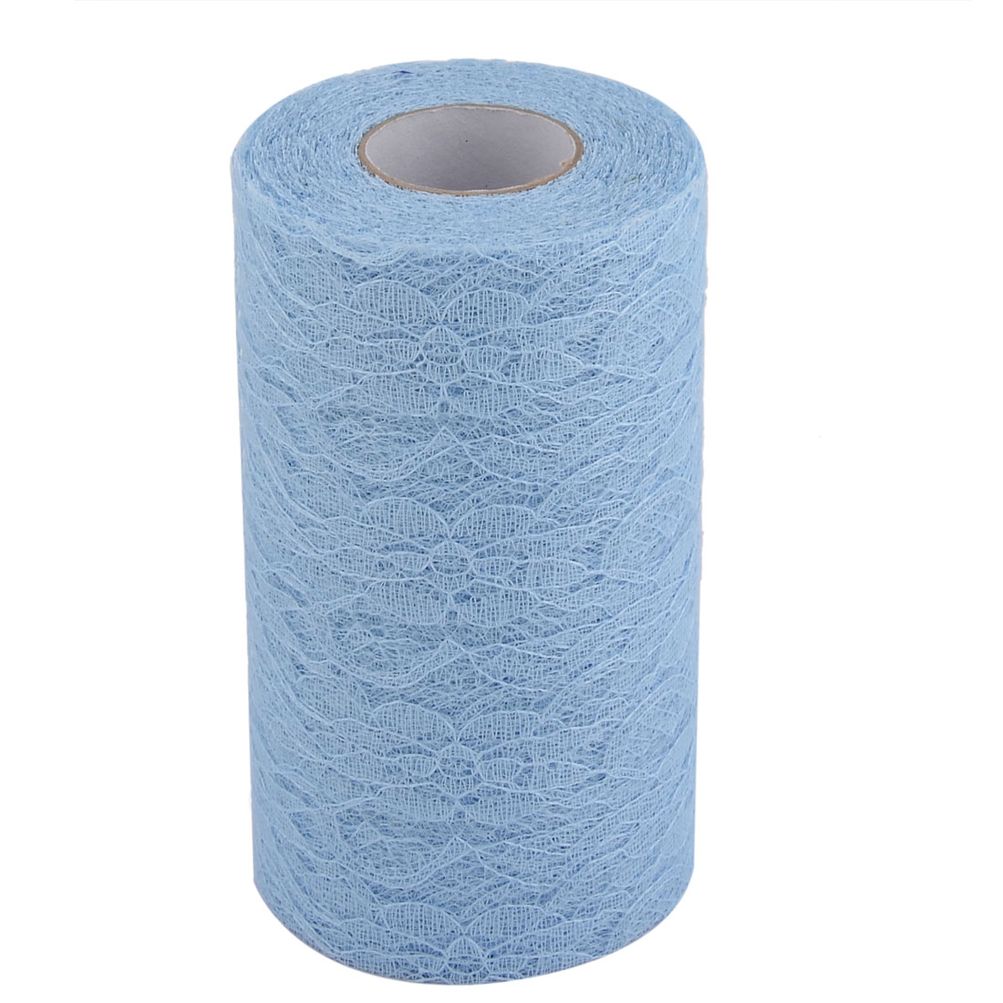 Party Lace Banquet Hall DIY Decor Tulle Spool Roll Light Blue 6 Inch x 25 Yards