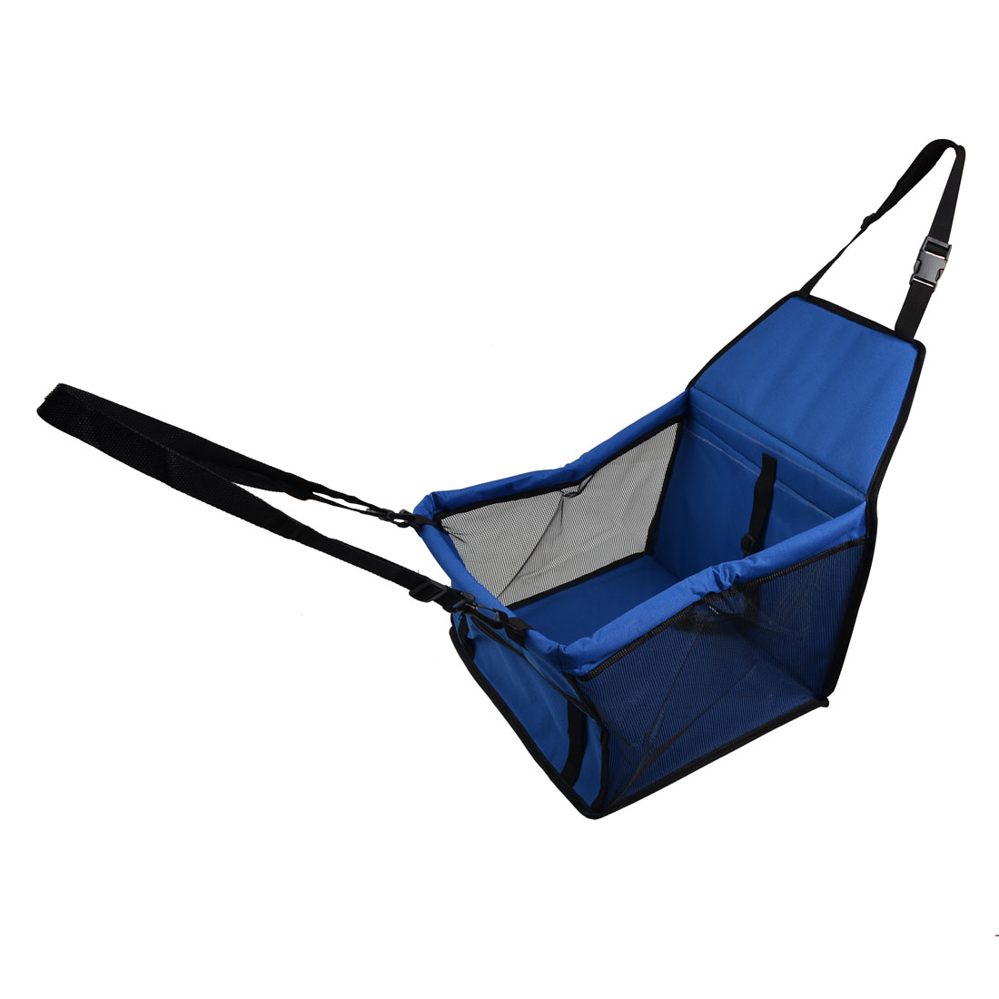 Outdoors Nylon Soft Sided Zipper Storage Pet Carrier Car Dog Crate Cat Case Blue