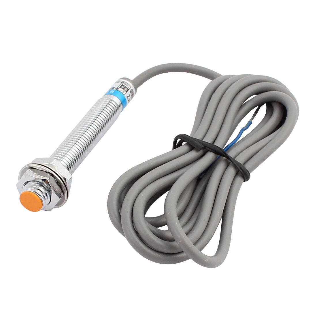 LJ8A3-1-J/EZ AC90-250V 400mA NPN NO 1mm Inductive Proximity Sensor Switch 2-wire