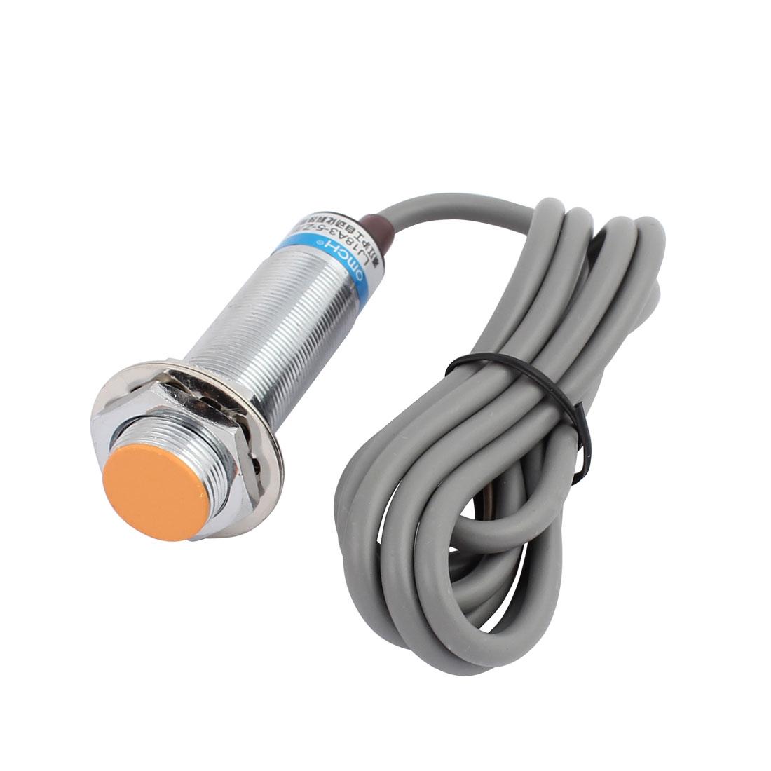 LJ18A3-5-Z/BX DC 6-36V 300mA NPN NO 5mm Inductive Proximity Sensor Switch 3-wire