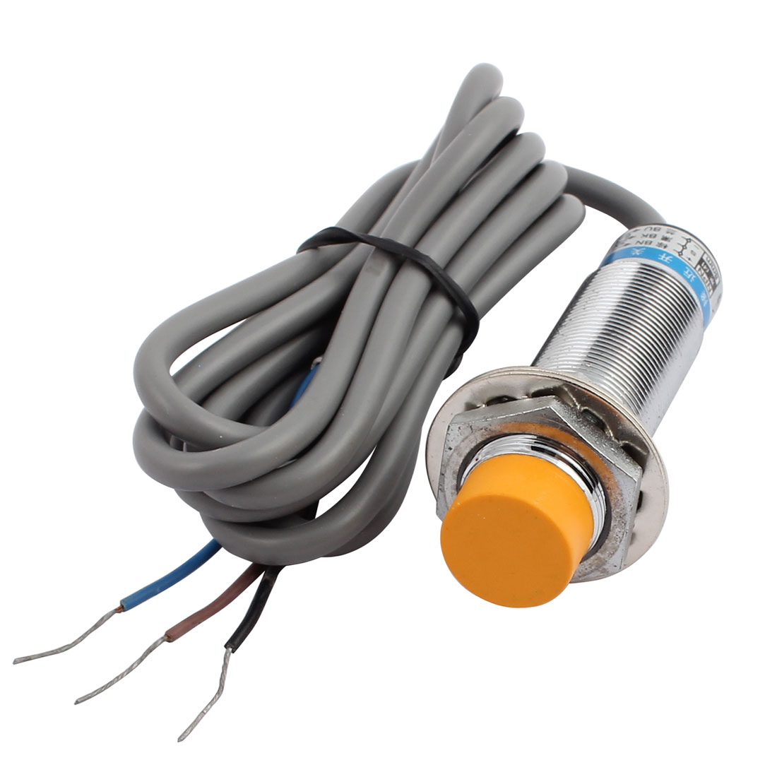 LJ18A3-8-Z/AX DC 6-36V 300mA NPN NC 8mm Inductive Proximity Sensor Switch 3-wire