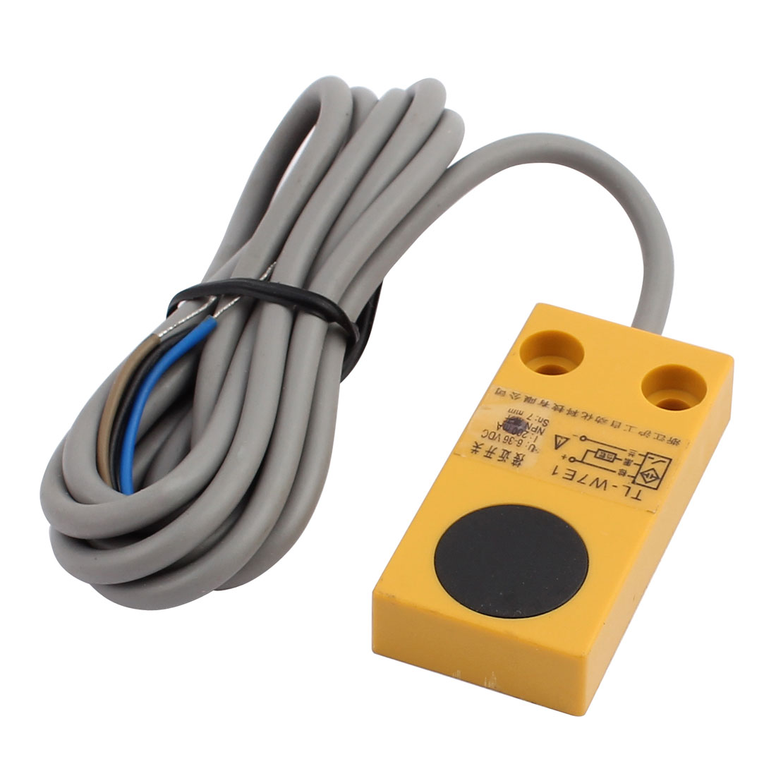 TL-W7E1 DC 6-36V 200mA NPN NO 7mm Inductive Proximity Sensor Switch 3-wire