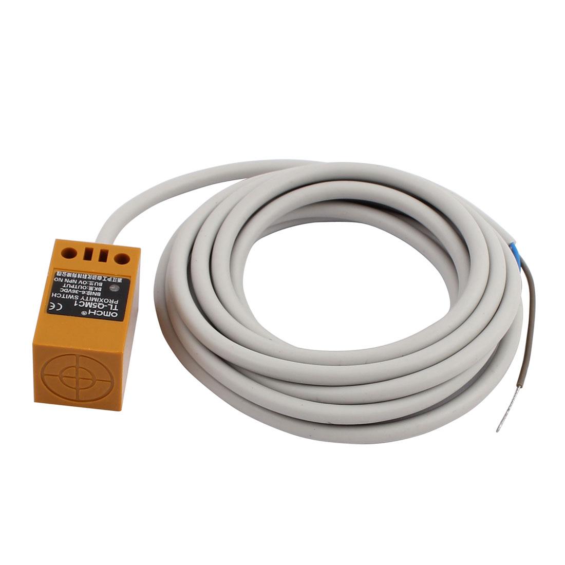 TL-Q5MC1 DC 6-36V 200mA NPN NO 5mm Inductive Proximity Sensor Switch 3-wire