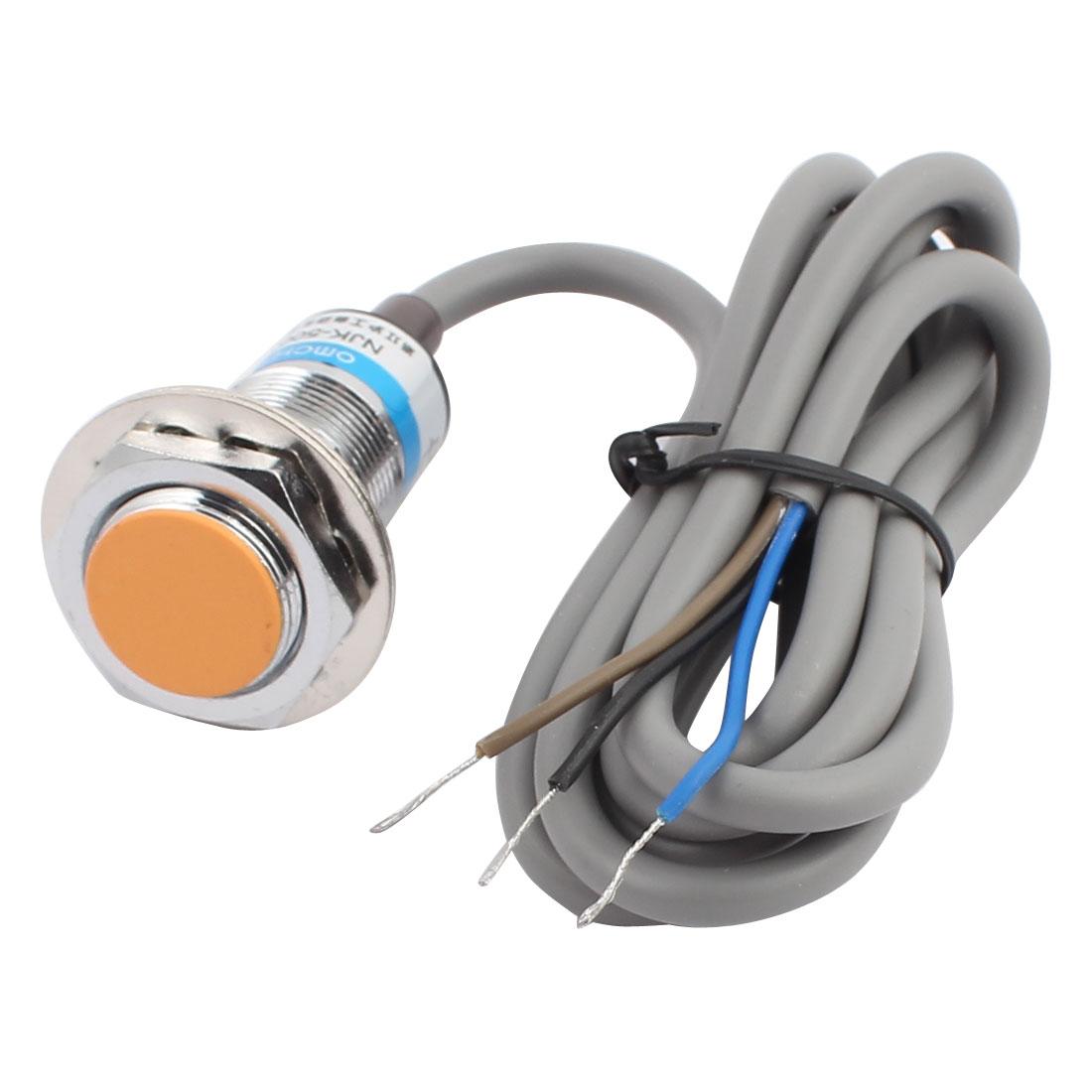 NJK-5003 DC 6-36V 300mA PNP NO 10mm Inductive Proximity Sensor Switch 3-wire