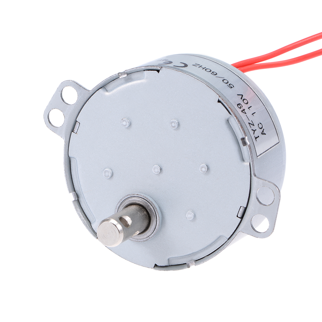 110V 50/60Hz 50RPM CW/CCW AC Synchronous Motor Turntable Gear Box for Microwave Oven
