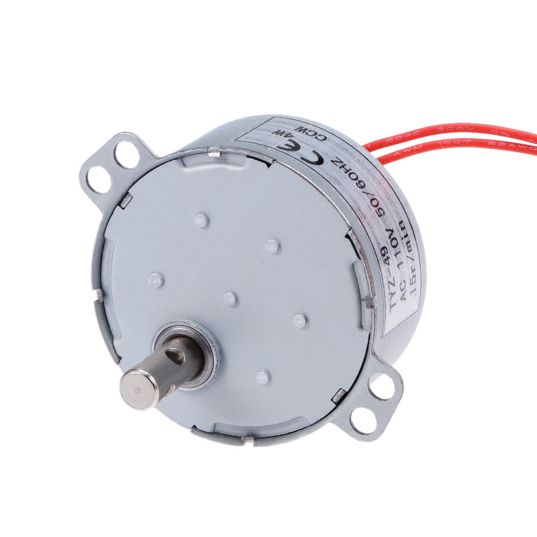 110V 50/60Hz 15RPM CCW AC Synchronous Motor Turntable Gear Box for Microwave Oven