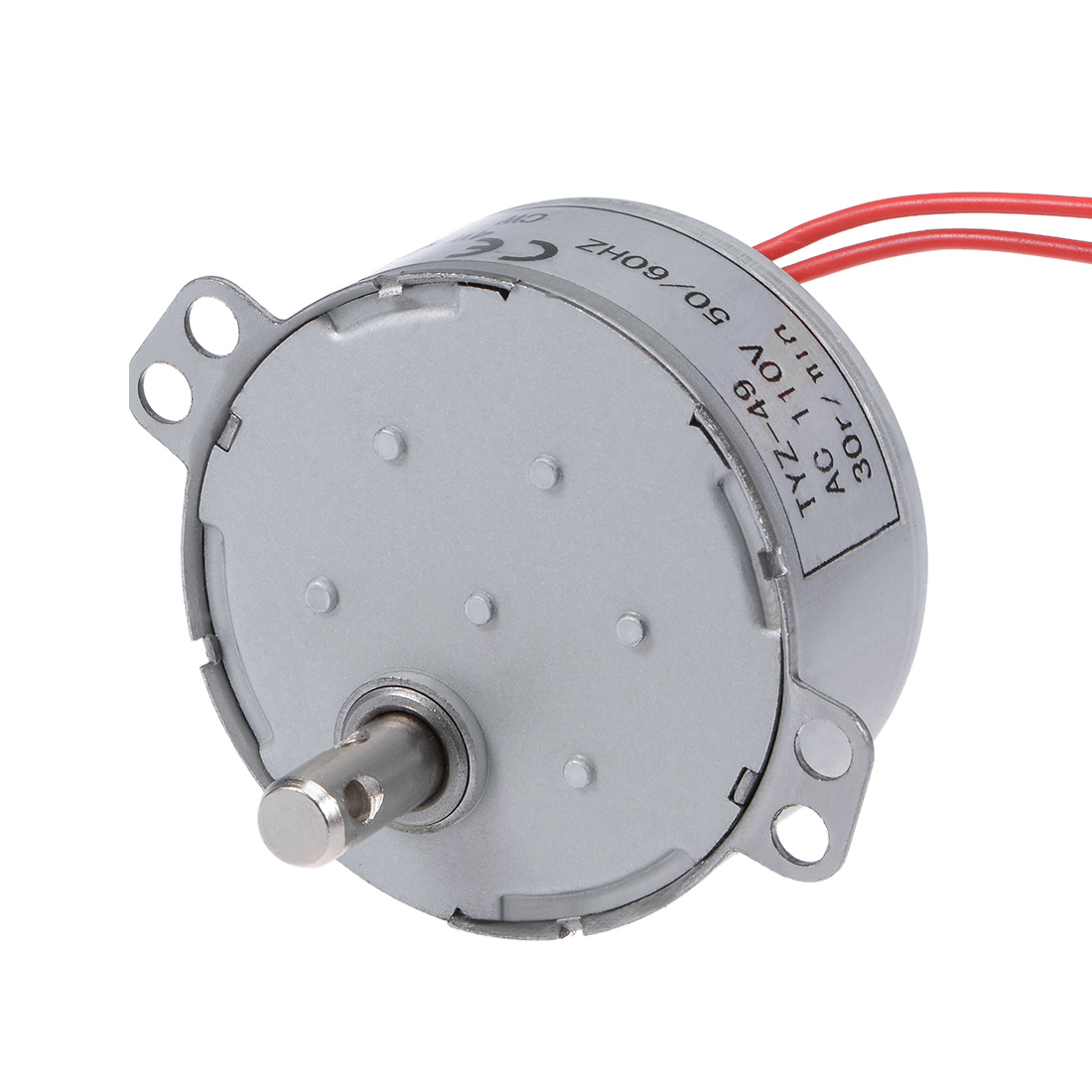 110V 50/60Hz 35RPM CW AC Synchronous Motor Turntable Gear Box for Microwave Oven
