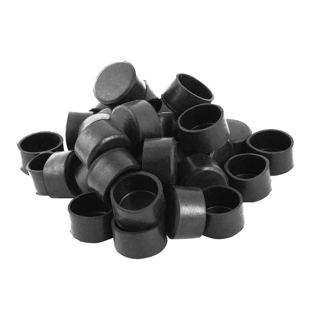 """38mm 1 1/2"""" Rubber Round Chair Leg Caps Furniture Feet Cover Protectors 36pcs"""