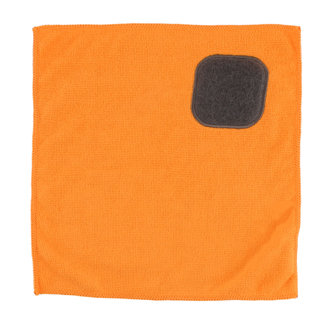 Household Kitchenware Microfiber Bowl Pot Dish Washcloth Cleaning Towel Orange