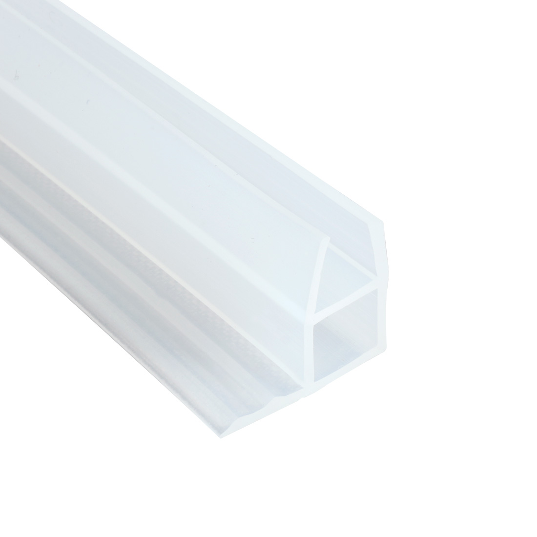 1M 39-inch Frameless Window Shower Door Seal Clear for 12mm 15/32-inch Glass