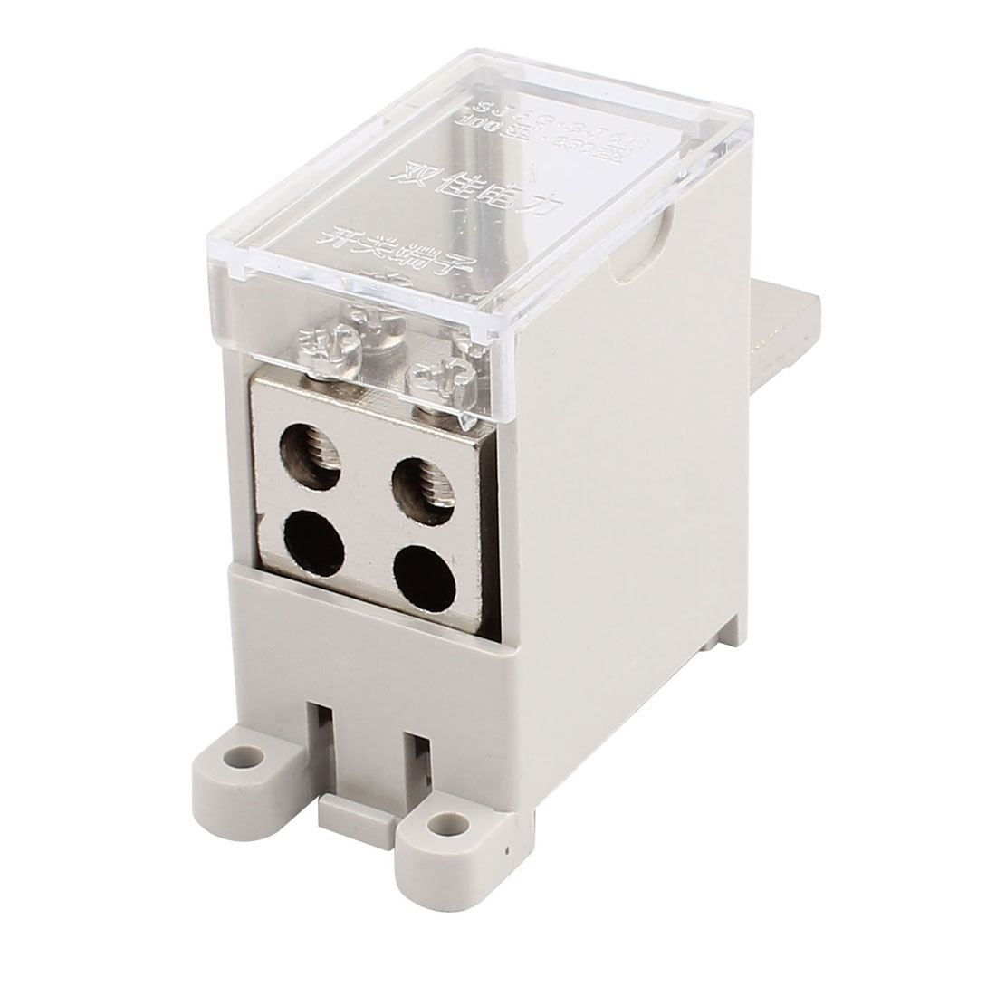 250-Type Wire Terminal Block 1 Inlet 4 Outlet for Miniature Circuit Breakers