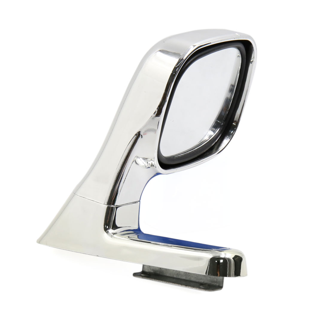 Silver Tone Universal Auto Car Adjustable Right Side Rearview Auxiliary Mirror