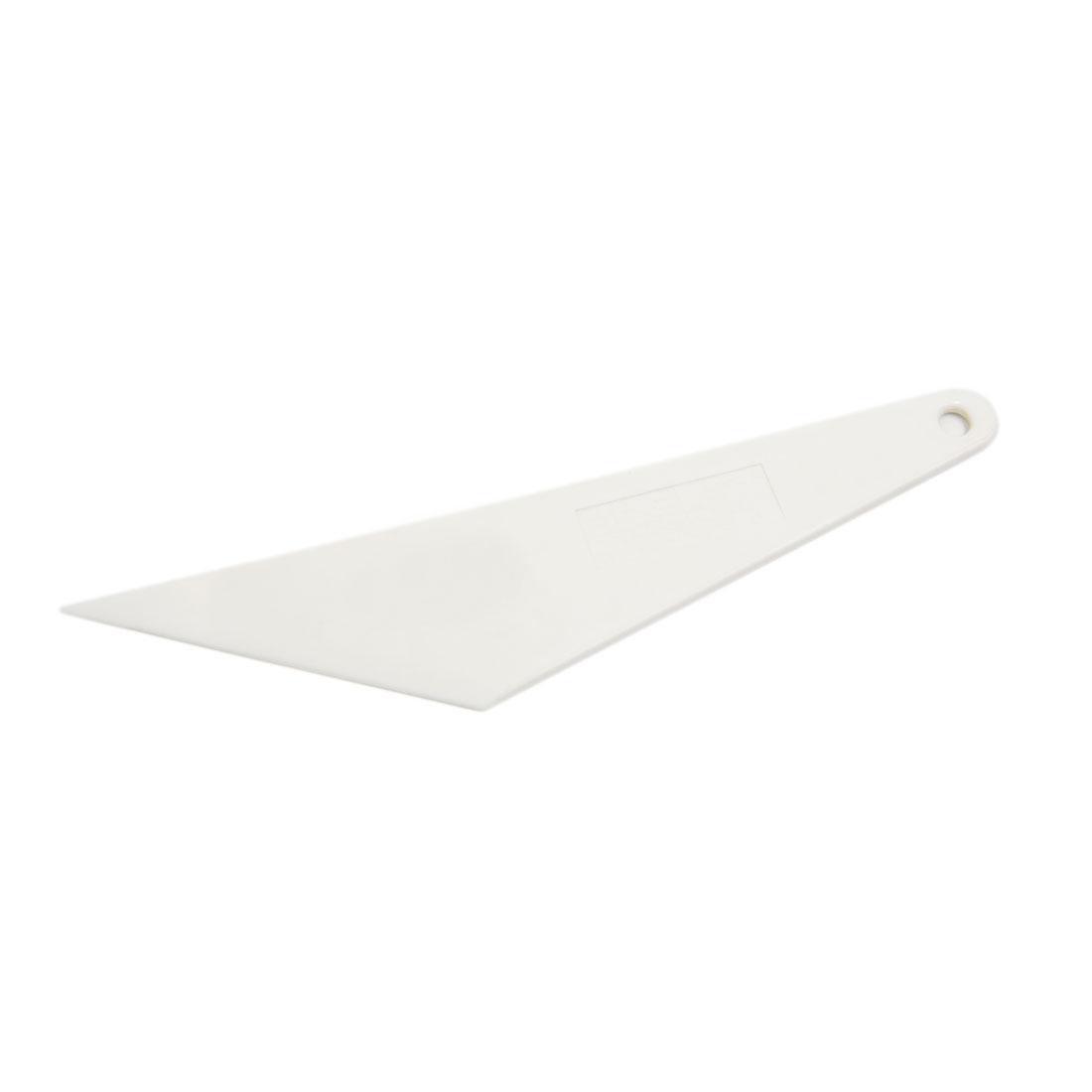 White Plastic Car Window Windscreen Sun Visor Film Tint Scraper Squeegee Cleaner