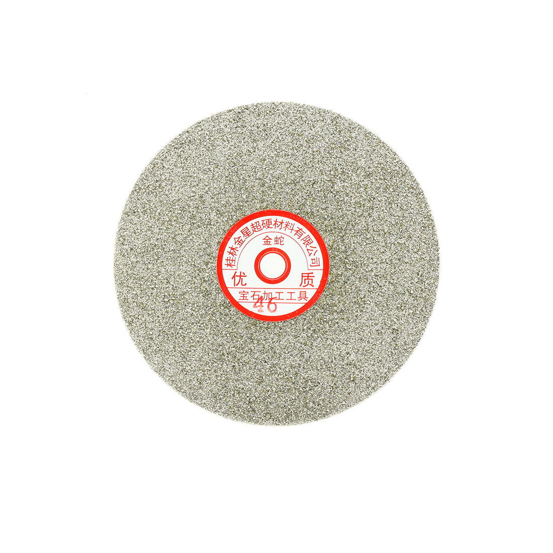 6-inch Grit 46 Diamond Coated Flat Lap Wheel Grinding Sanding Polishing Disc
