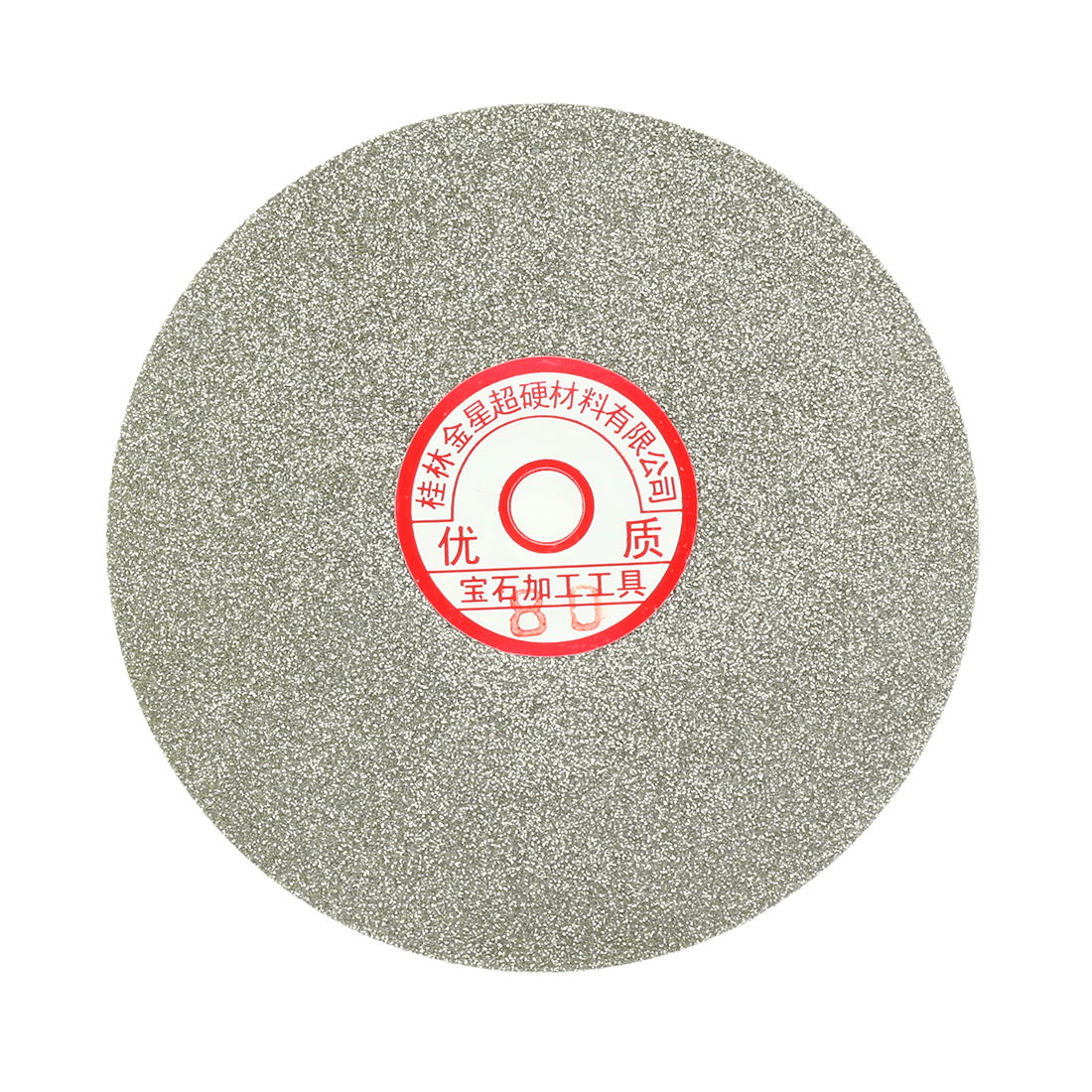 6-inch Grit 80 Diamond Coated Flat Lap Wheel Grinding Sanding Polishing Disc