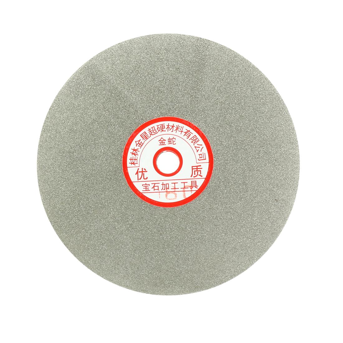 6-inch Grit 180 Diamond Coated Flat Lap Wheel Grinding Sanding Polishing Disc