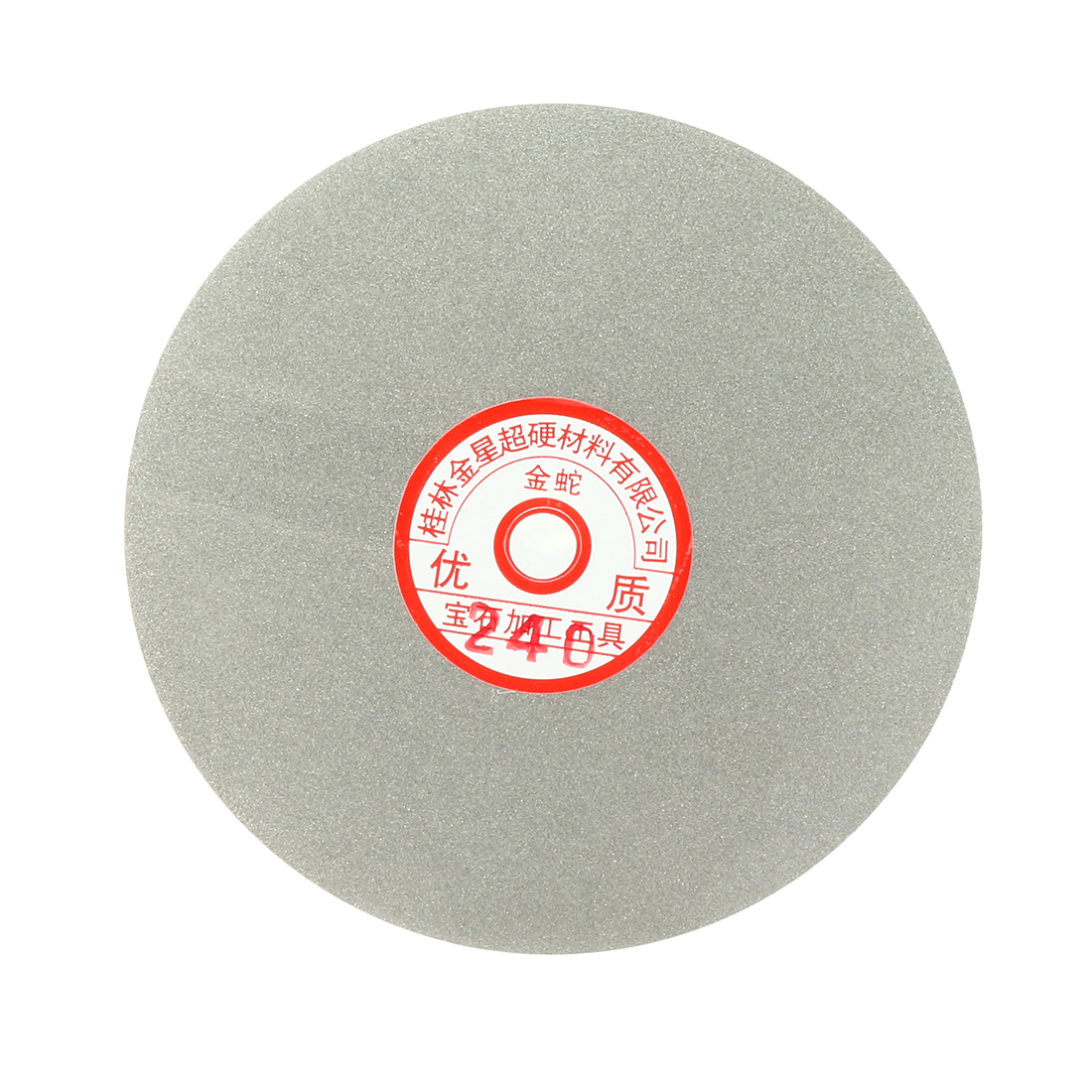 6-inch Grit 240 Diamond Coated Flat Lap Wheel Grinding Sanding Polishing Disc
