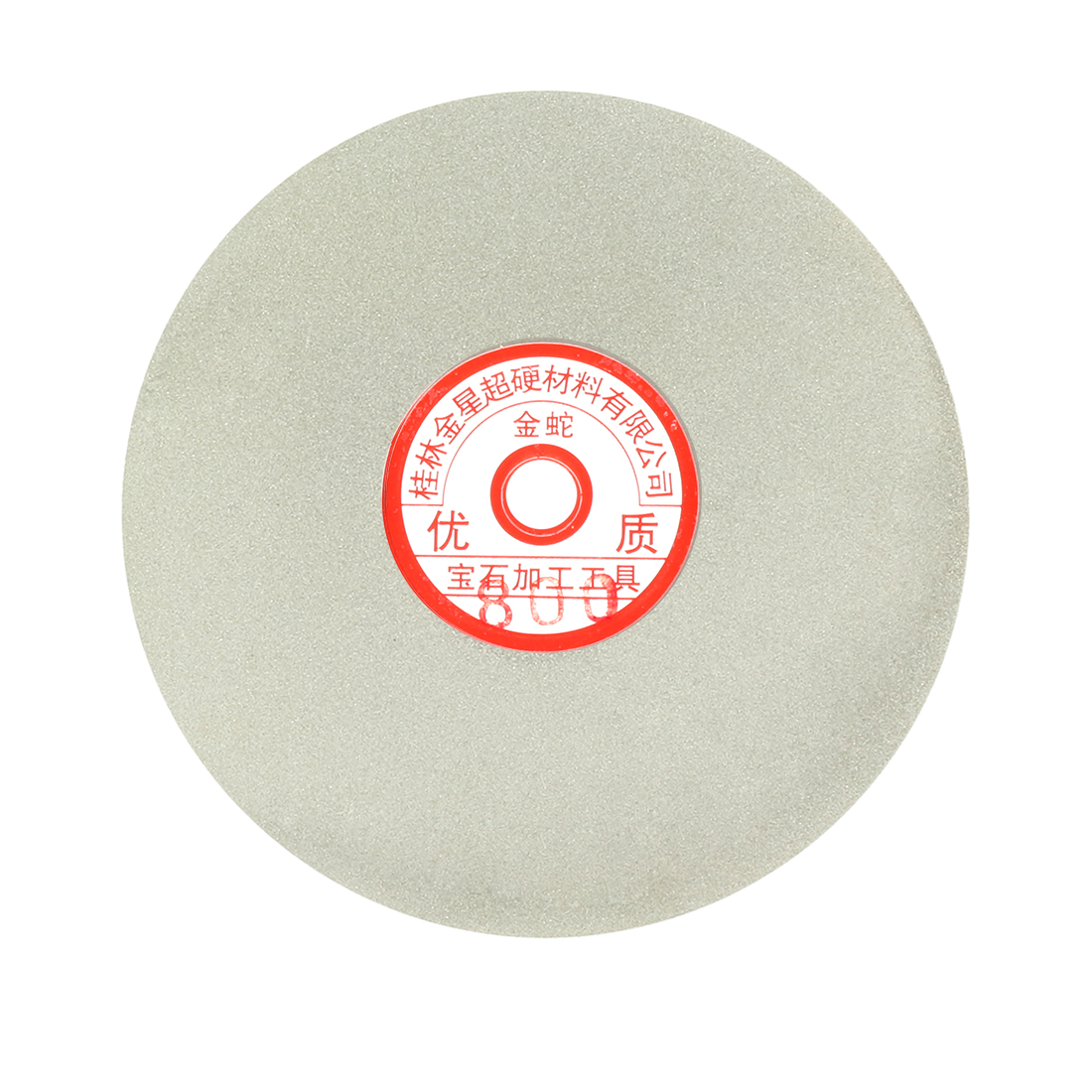 6-inch Grit 800 Diamond Coated Flat Lap Wheel Grinding Sanding Polishing Disc