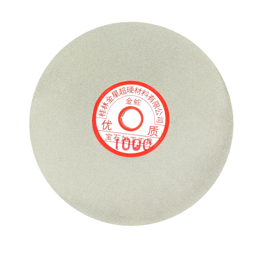 6-inch Grit 1000 Diamond Coated Flat Lap Wheel Grinding Sanding Polishing Disc