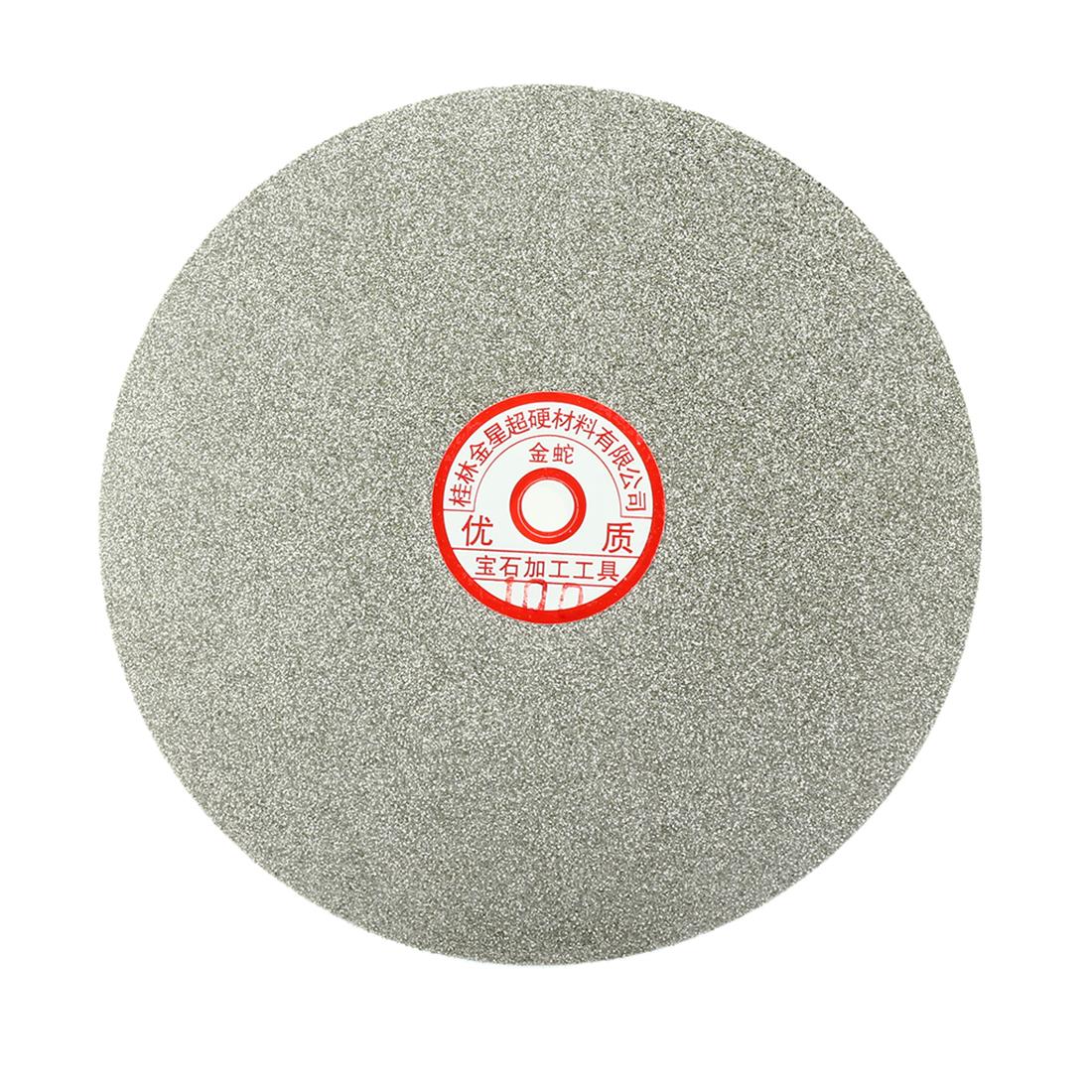 200mm 8-inch Grit 100 Diamond Coated Flat Lap Disk Wheel Grinding Sanding Disc