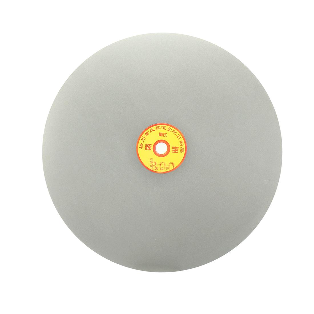 250mm 10-inch Grit 800 Diamond Coated Flat Lap Disk Wheel Grinding Sanding Disc