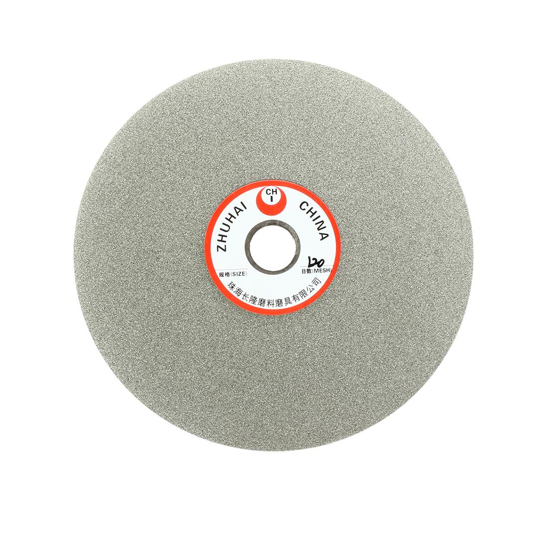 6-inch Grit 120 Diamond Coated Flat Lap Wheel Grinding Disc Polishing Tool