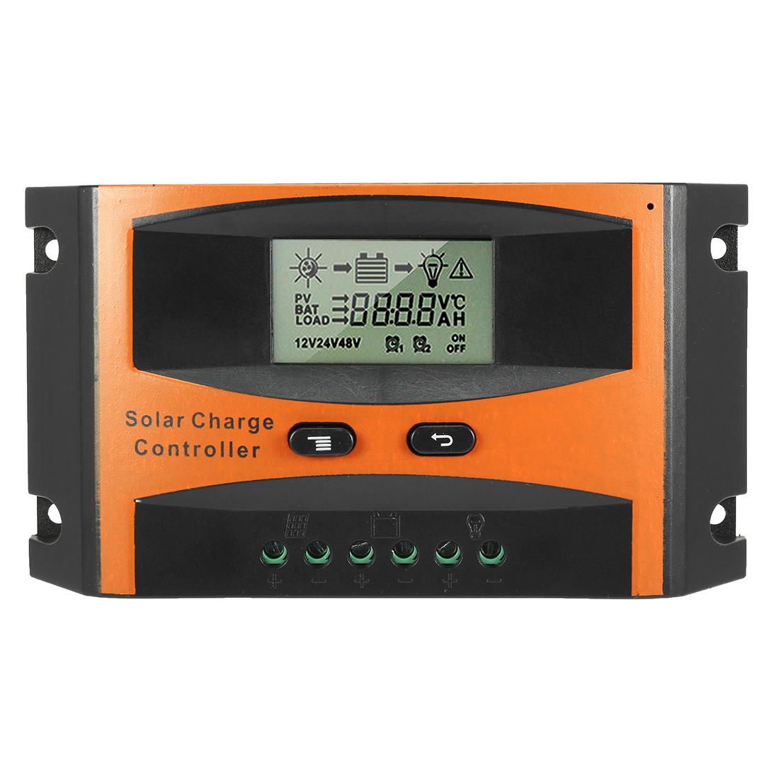 Intelligent 20A Solar Panel Charge Controller 12V-24V Battery Regulator PV2420