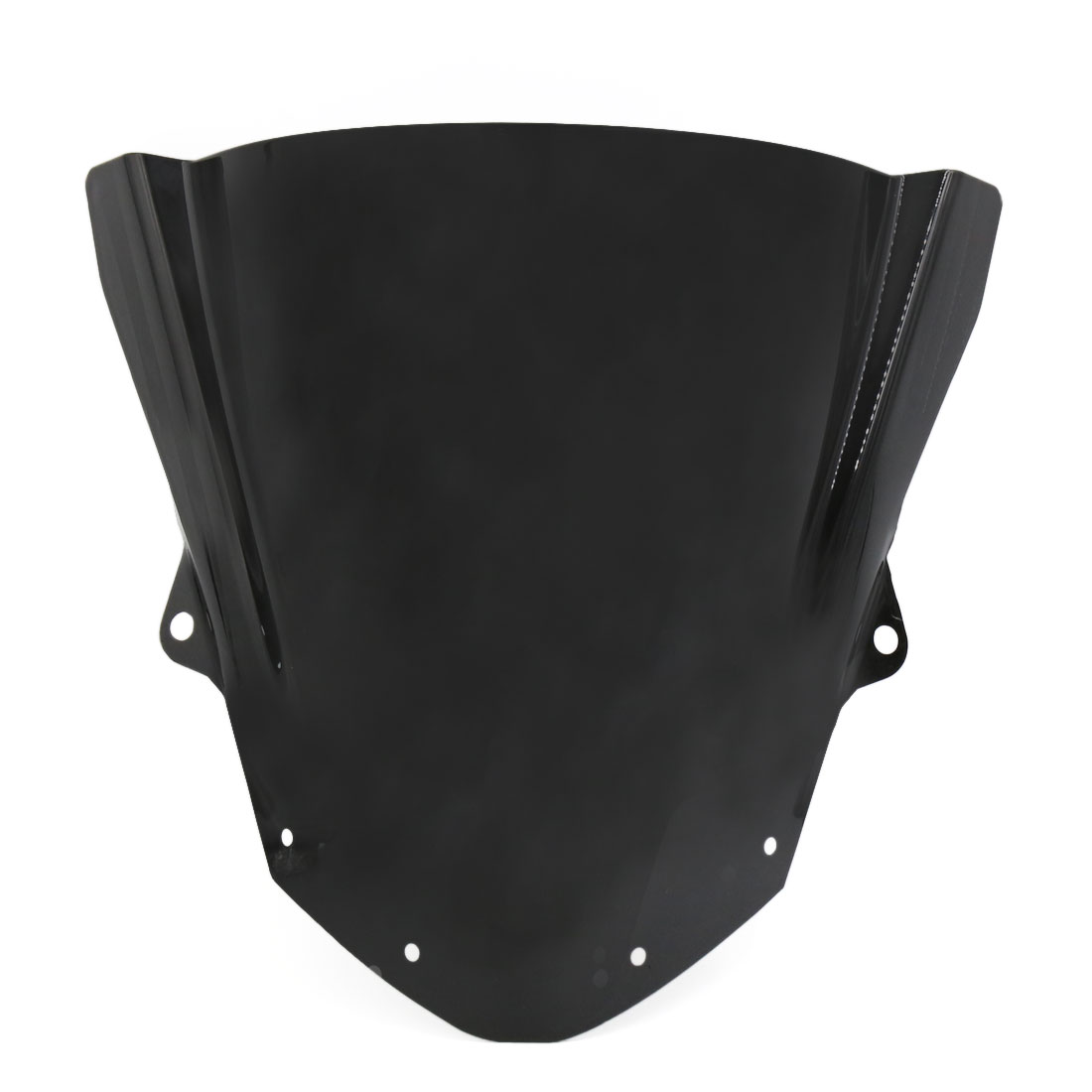 Black ABS Plastic Scooter Motorcycle Windshield for ZX6R 09-14 ZX10R 08-10