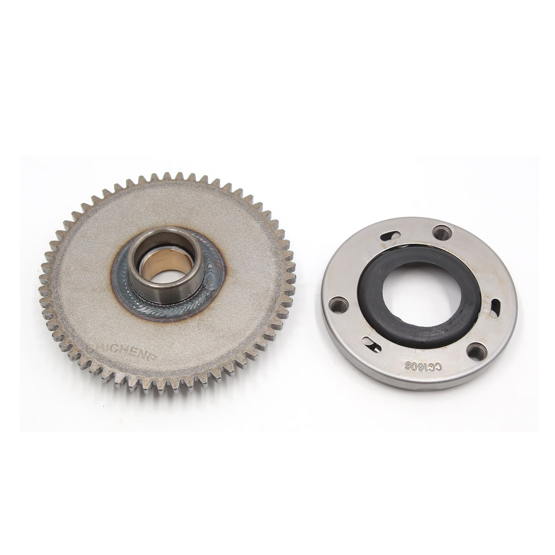 Metal Motorcycle One Way Bearing Starter Clutch Gear Kit for ZJ125