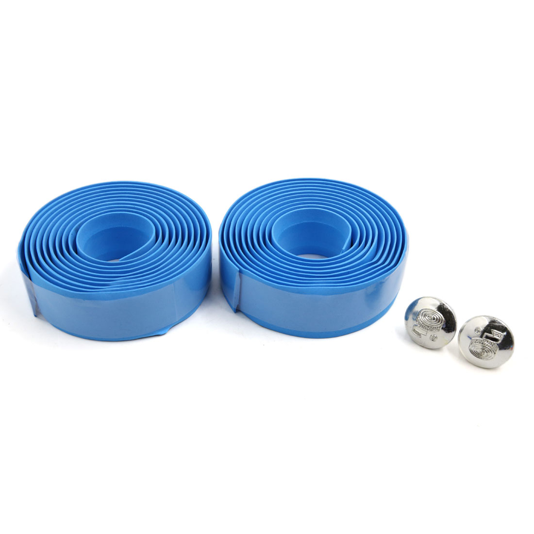 2 Pcs Blue Road Bike Cycling Handlebar Non-slip Tape Wrap Bicycle Handle Belt