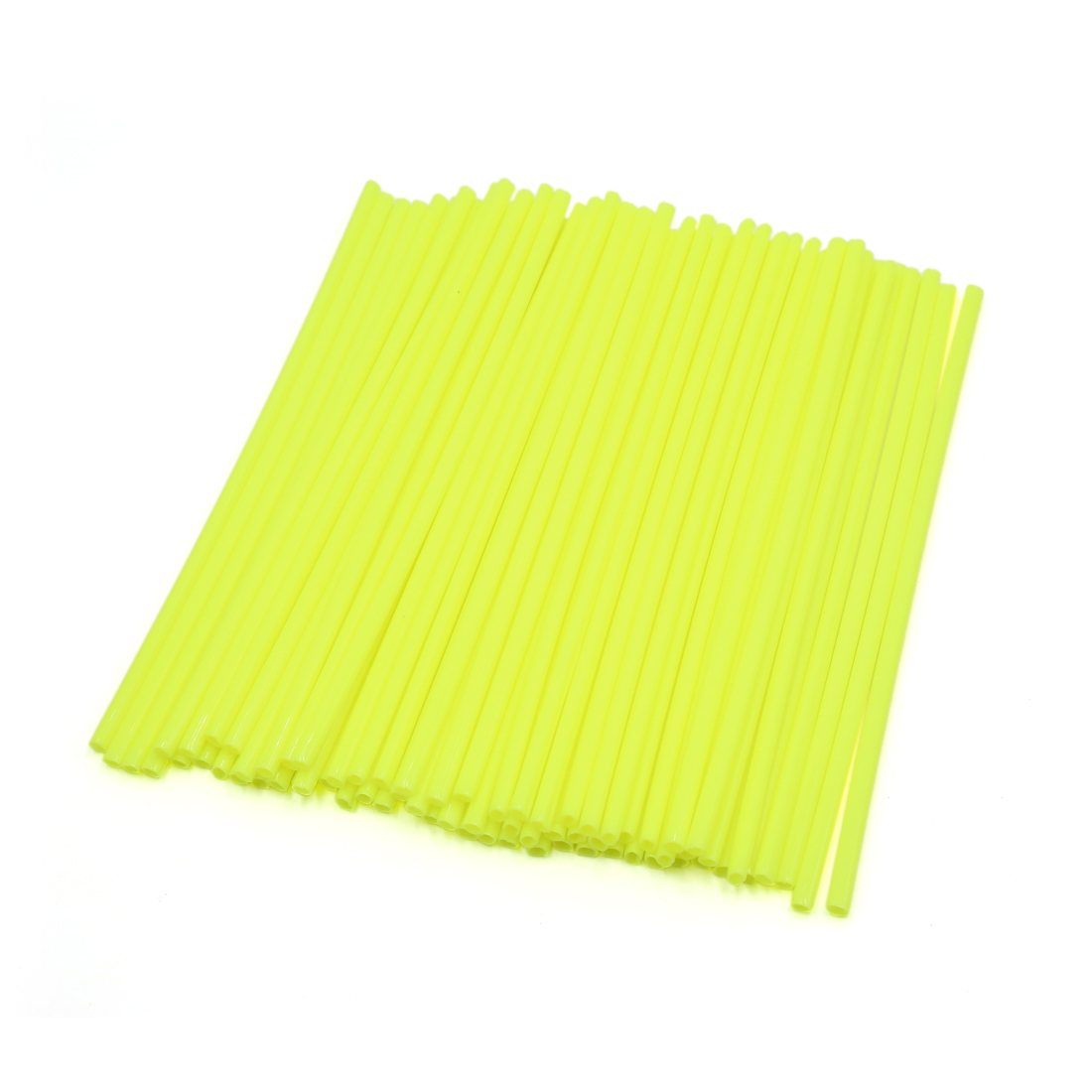72Pcs Fluorescein Bicycle Bike Wheel Rim Spoke Tube Reflector Reflective Strips
