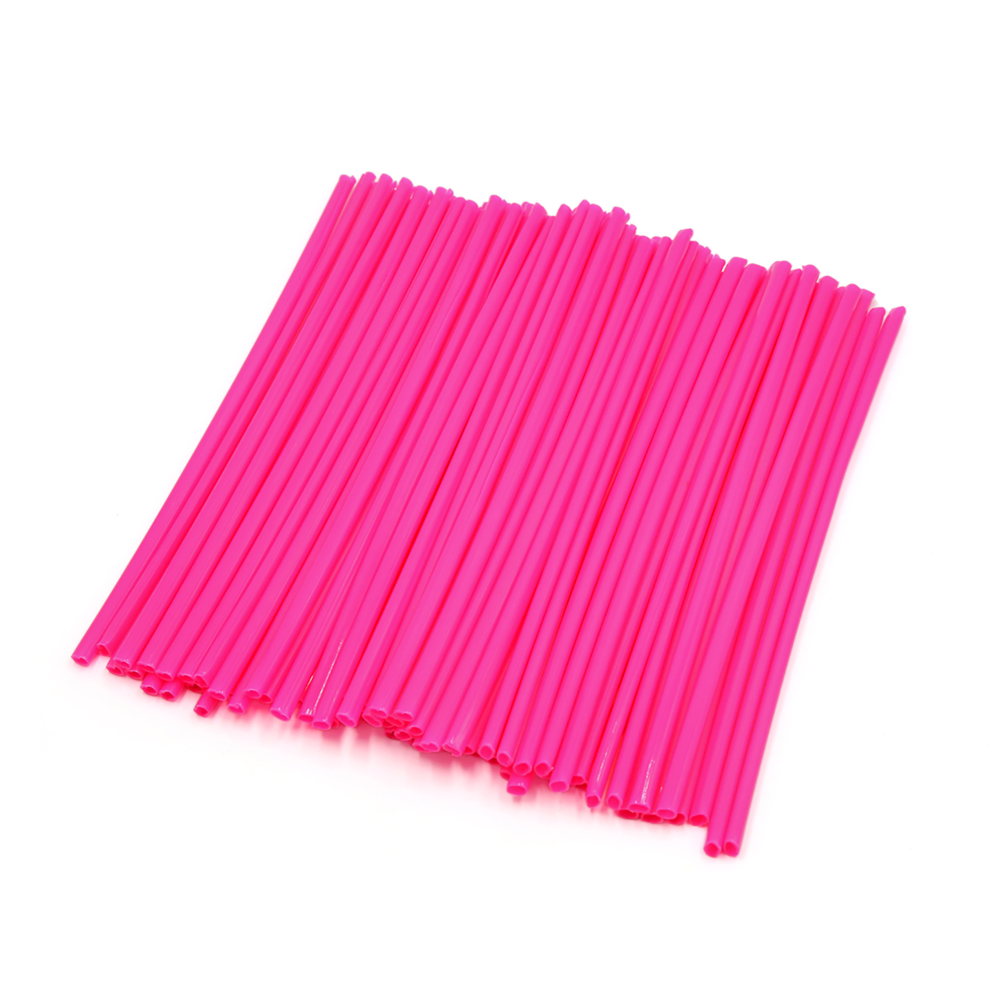 72Pcs Pink MTB Bicycle Bike Wheel Rim Spoke Tube Reflector Reflective Strips
