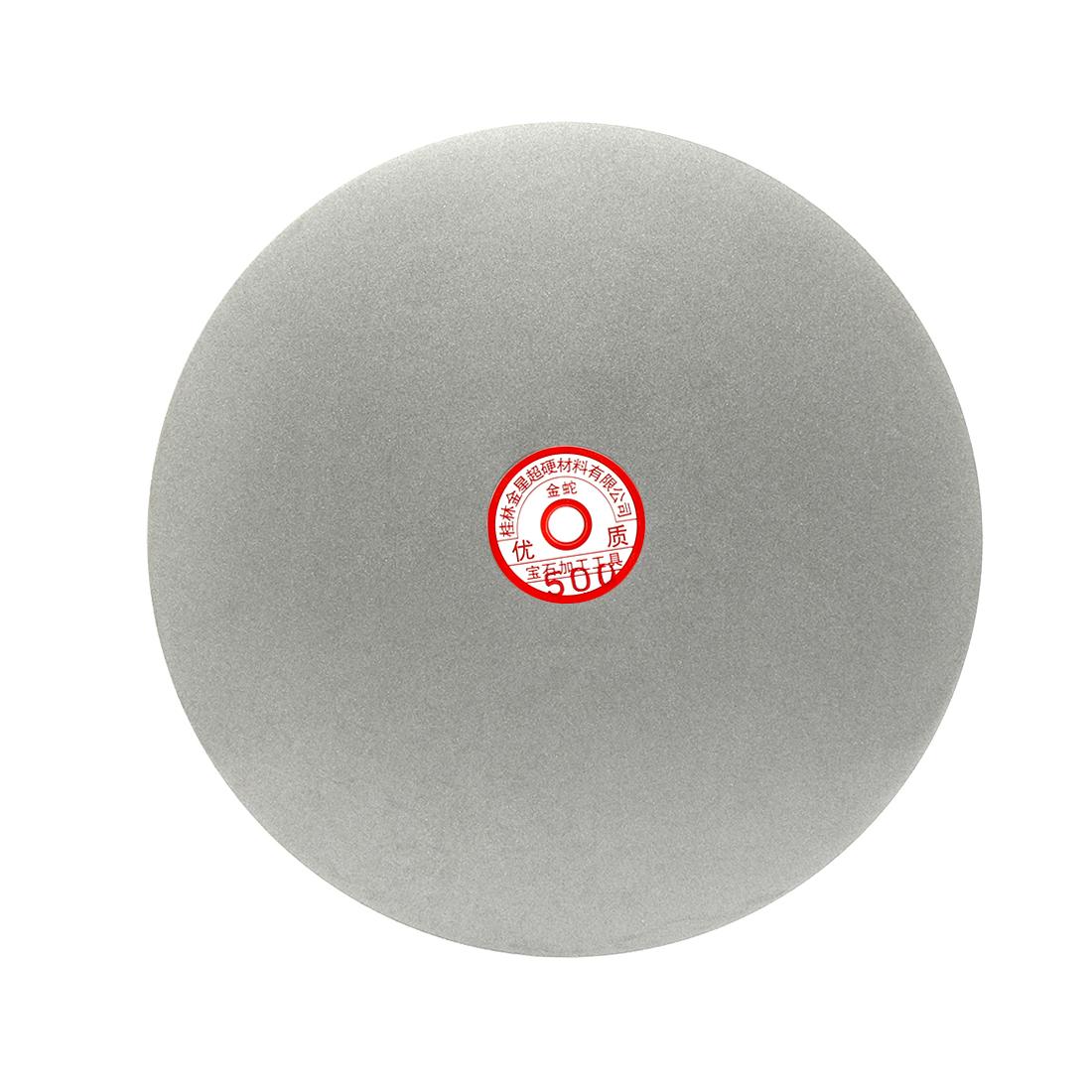300mm 12-inch Grit 500 Diamond Coated Flat Lap Disk Wheel Grinding Sanding Disc