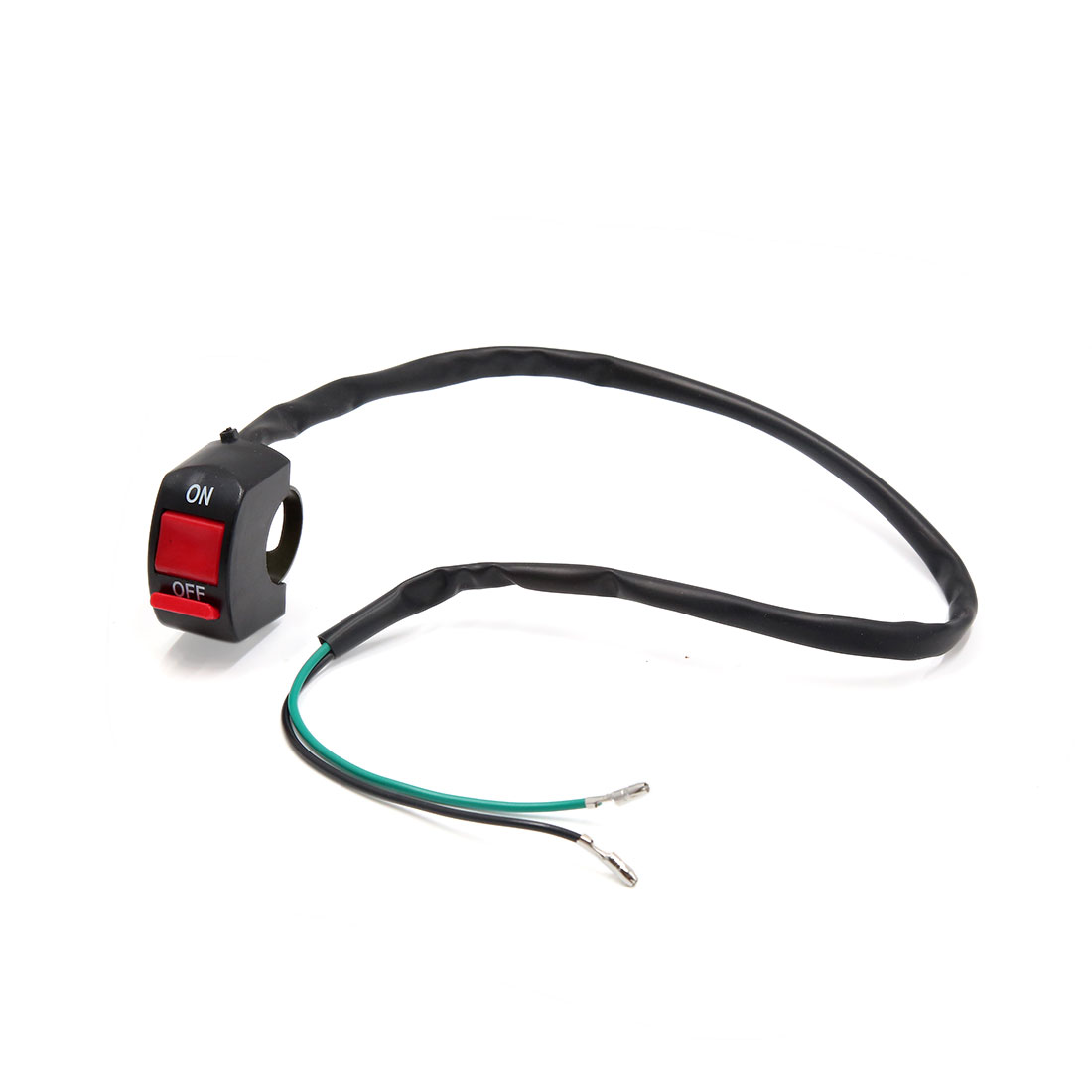 """2 Wires Motorcycle Headlight Switch Head Lamp ON-OFF Button for 7/8"""" Handlebar"""