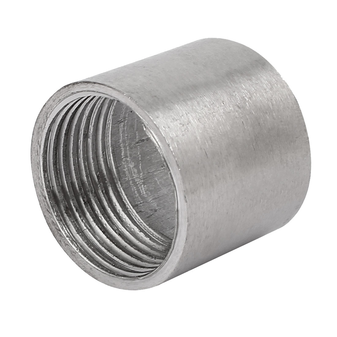 1BSP Stainless Steel Female Thread Weld On Straight Joint Nozzle Adapter