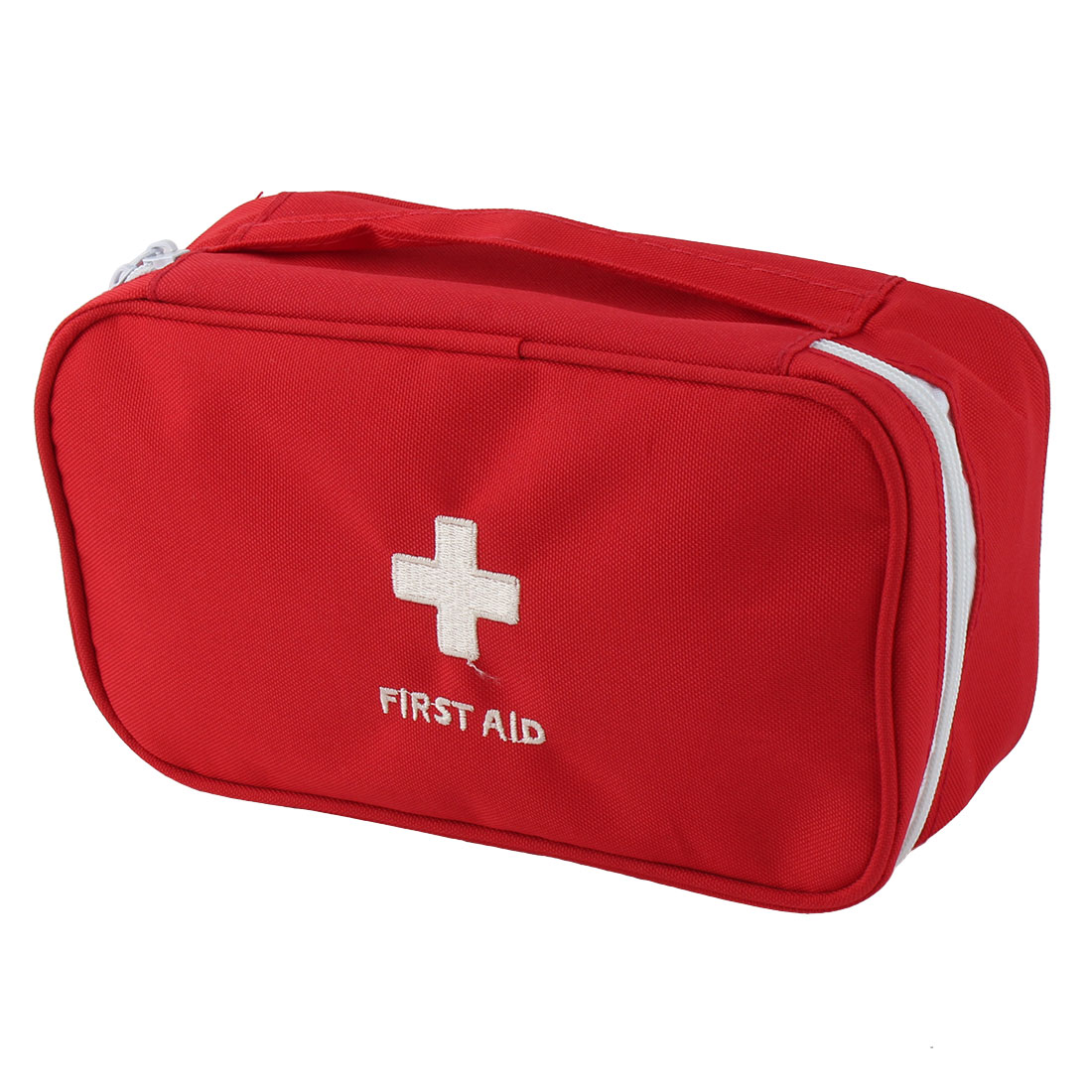 Outdoor Camping Polyester Rectangle Emergency First Aid Medic Rescue Bag Red
