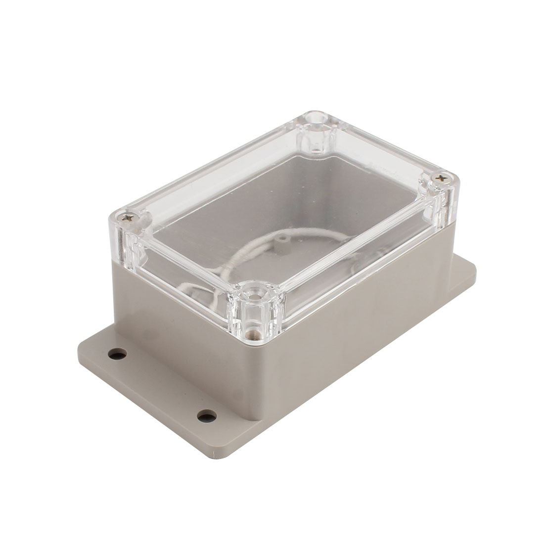 100x68x50mm Clear Cover Junction Electronic Project Box Enclosure