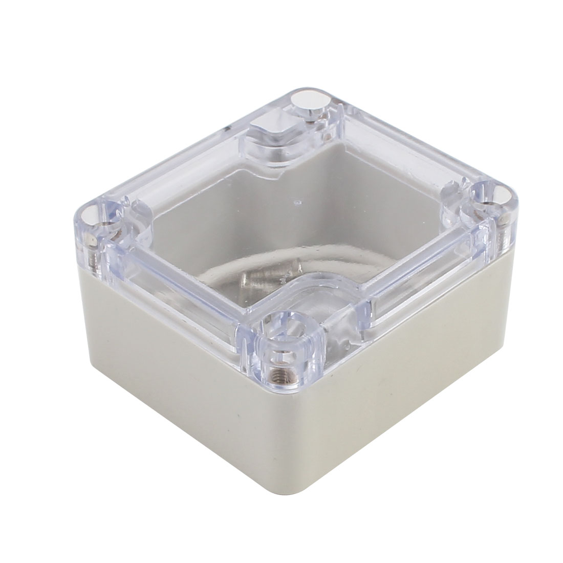 63mmx58mmx35mm Clear Cover Junction Electronic Project Box Enclosure