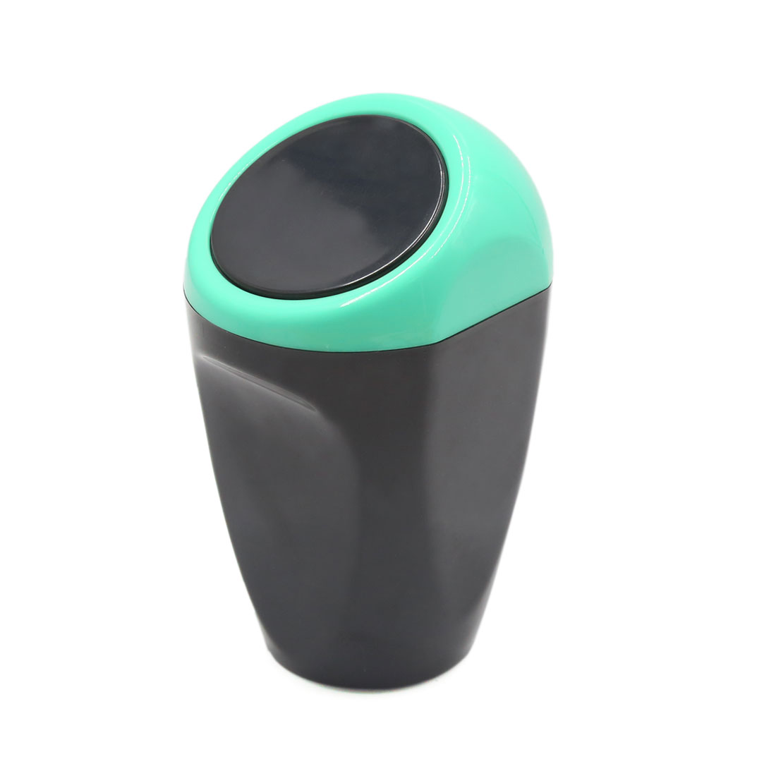 Blue Black Mini Multipurpose Plastic Car Trash Rubbish Bin Garbage Can Holder