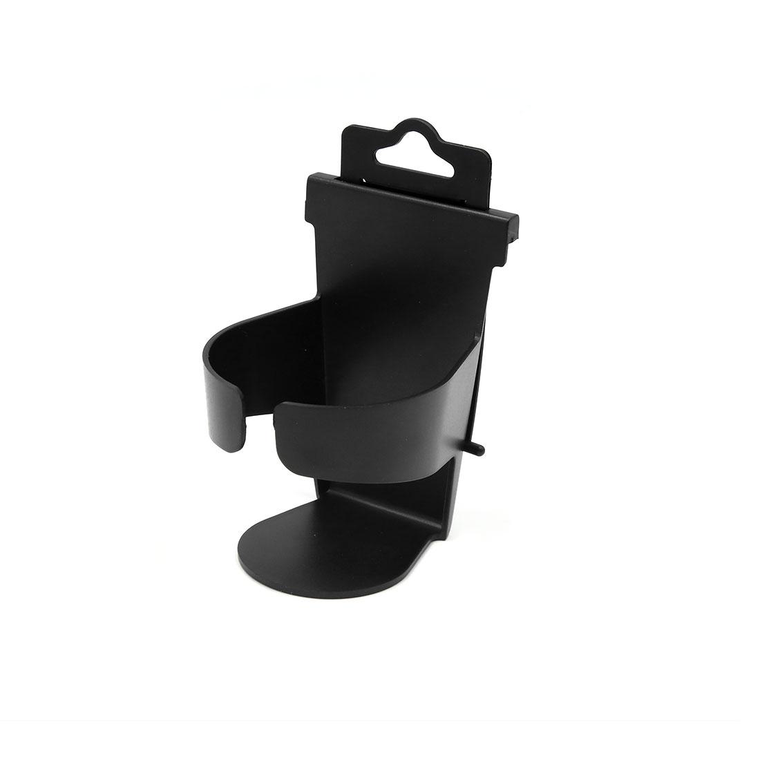 Black Portable Auto Car Truck Door Mount Beverage Drink Bottle Cup Holder Stand