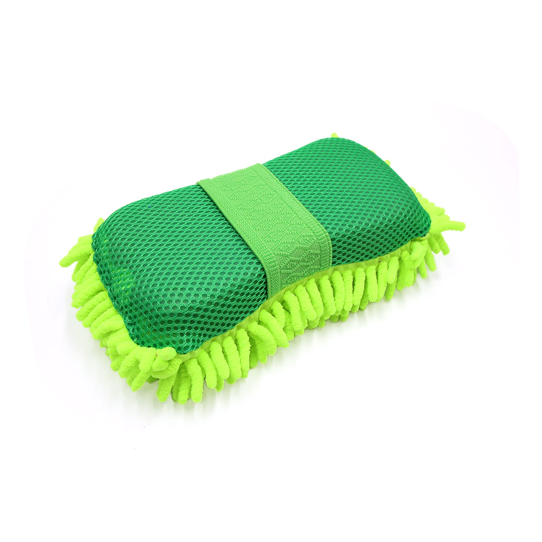25 x 13 x 6.5cm Multi-Use Microfiber Chenille Washing Cleaning Sponge for Car
