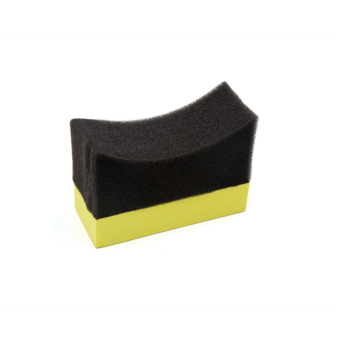 Universal Yellow Foam Black Sponge Car Vehicle Waxing Buffing Tool Polishing Pad