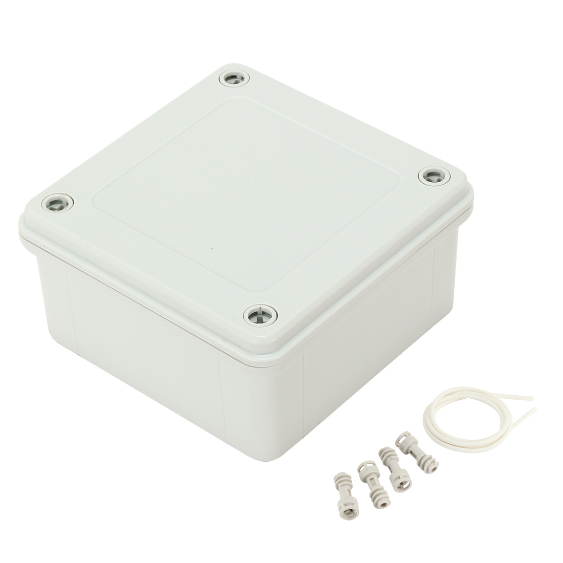 "4.7""x4.7""x2.3""(120mmx120mmx60mm) ABS Junction Box Universal Electric Project Enclosure"
