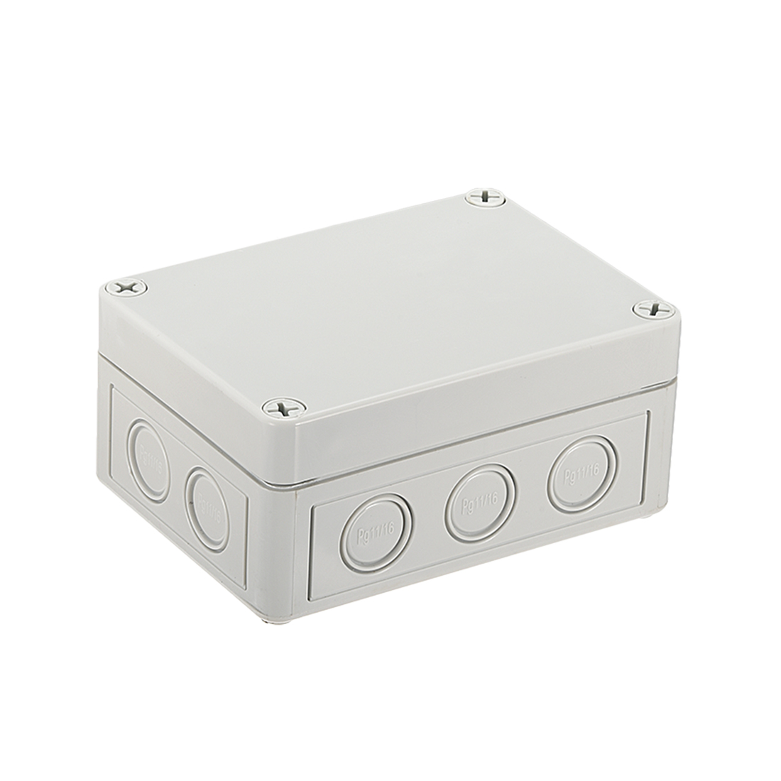 """5.1""""x3.7""""x2.24""""(130mmx93mmx57mm) ABS Junction Box Universal Electric Project Enclosure"""