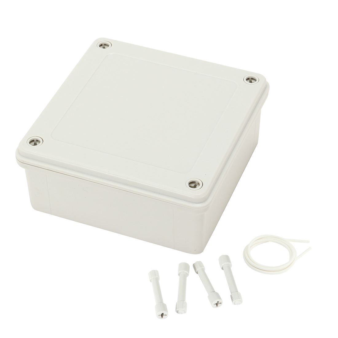 "5.7""x5.7""x2.3""(145mmx145mmx60mm) ABS Junction Box Universal Electric Project Enclosure"