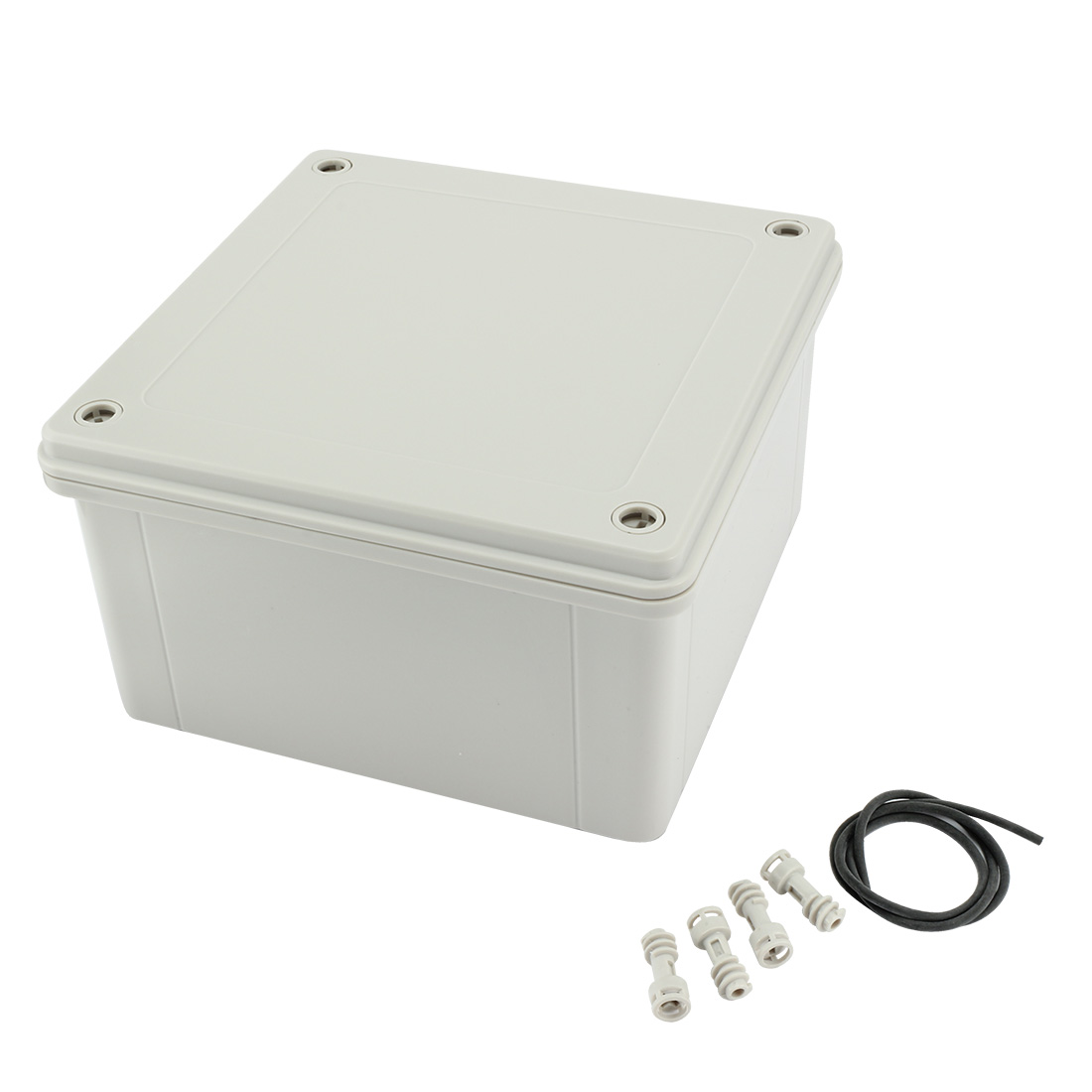 "6.3""x6.3""x3.54""(160mmx160mmx90mm) ABS Dustproof IP65 Junction Box Universal Project Enclosure"